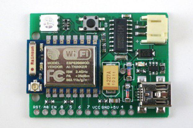 ESPToy WiFi dev. board (ESP8266 included)