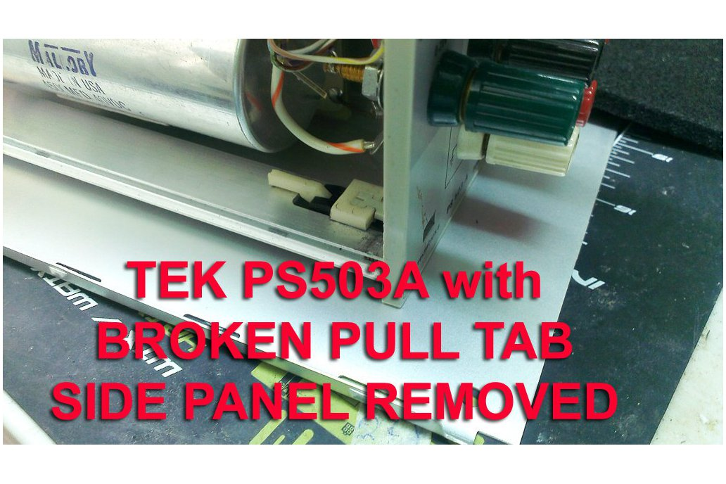 Substitute Pull tabs for Tektronix TM500 plugins 2