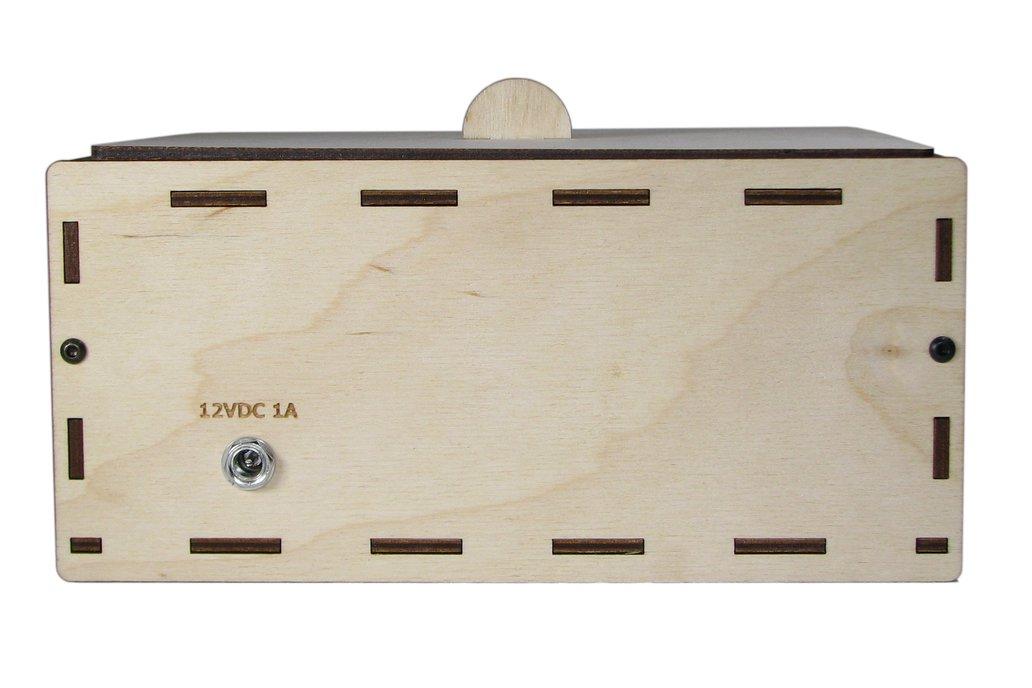 """PCB UV Exposure Box, 6"""" x 4"""" 3"""