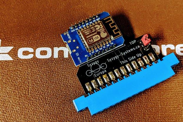 Commodore 64 WiFi Modem  | Syzygy Europa