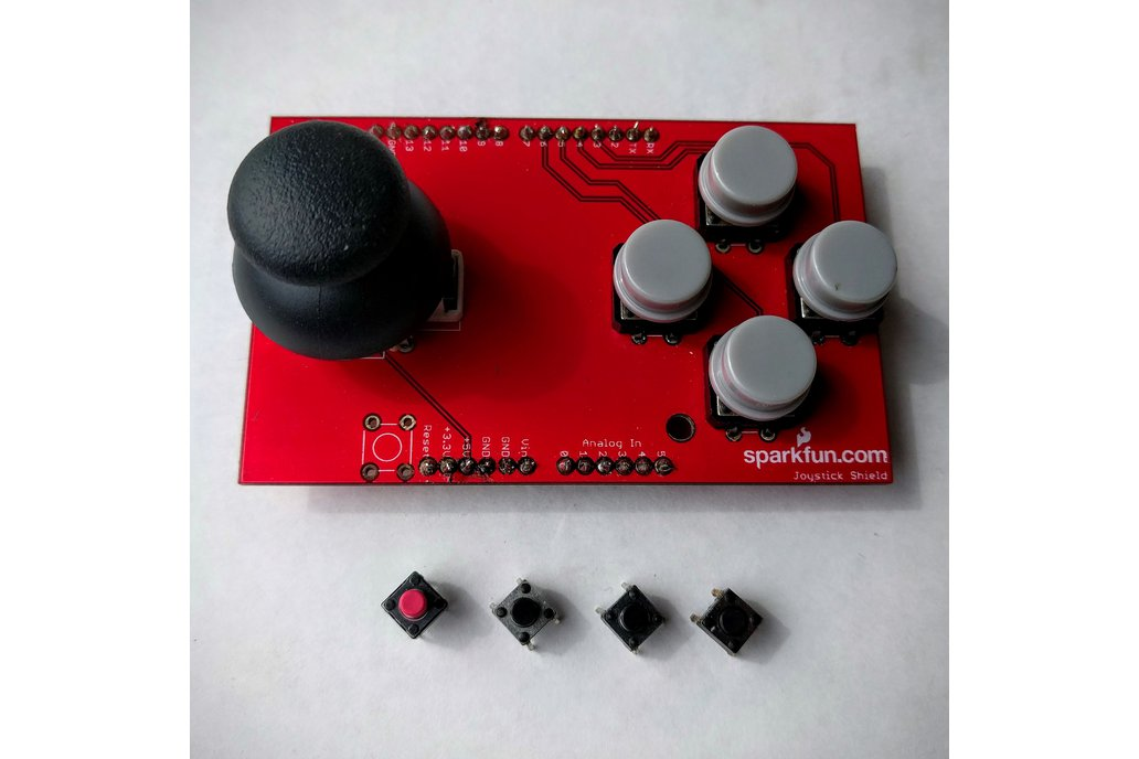 Preassembled Sparkfun Joystick Shield 1