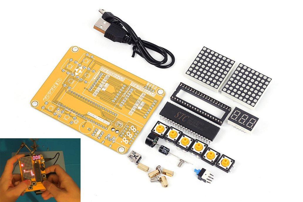 DIY Game Kit MCU Game Machine for Tetris(13071) 1