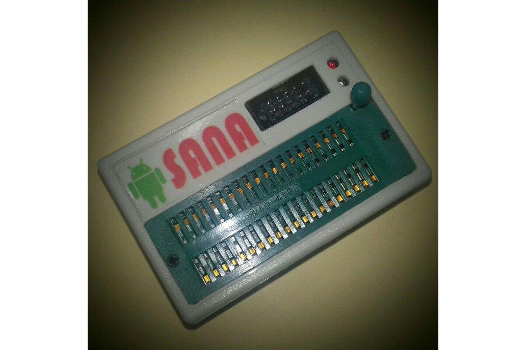 SANA USBASP Programmer and 89S5x , 24Cxxx , 93cxx 6
