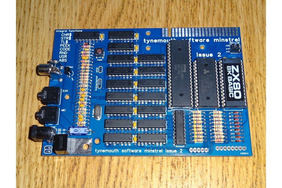 Minstrel ZX80 Clone Open version