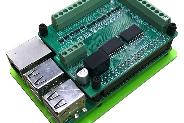 Raspberry Pi IO digital input / output board