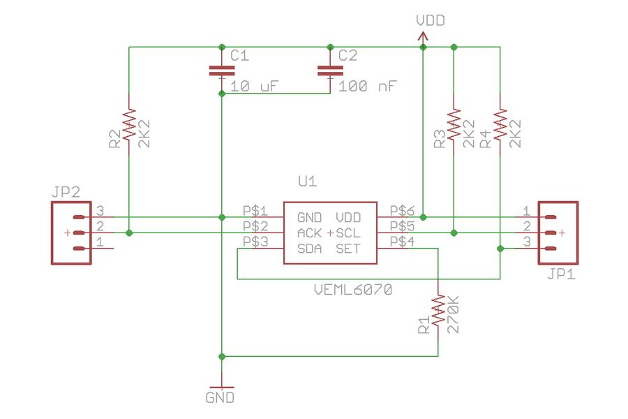 VEML6070 UV Light Sensor