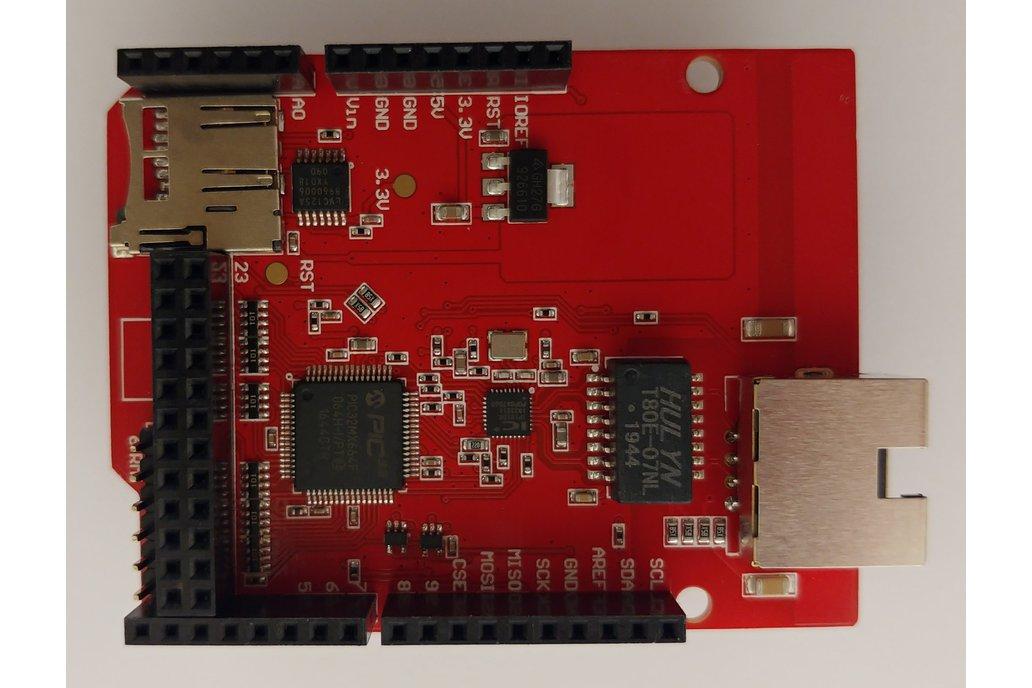 Ethernet Shield Arduino Hardware Compatible 1