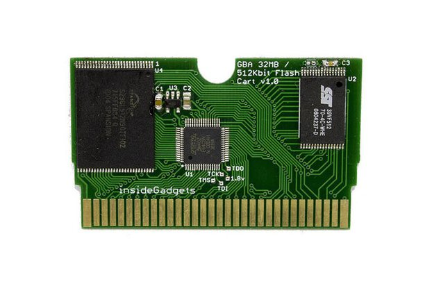 GBA 32MB, 512Kbit Flash Save, Flash Cart