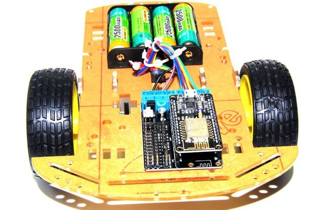 2WD L293D WiFi RC Smart Car with NodeMCU