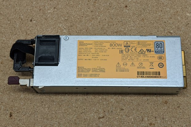 800W Hot-Plug Power Supply for HP Proliant