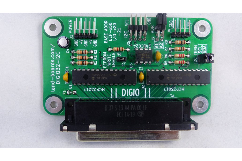 32-Bit Digital I/O Card (DIGIO32-I2C) 1