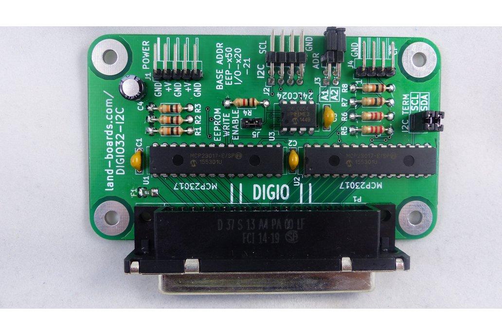 32-Bit Digital I/O Card (DIGIO32-I2C) 1