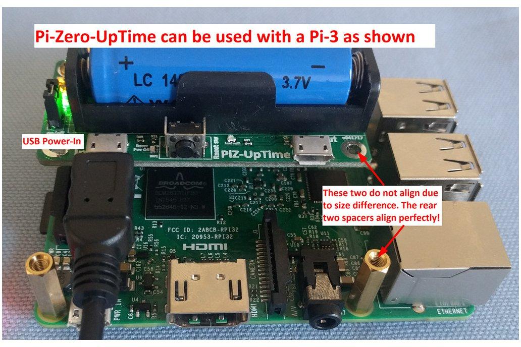Pi-Zero-UpTime: UPS for Pi in Pi-Zero size. 5