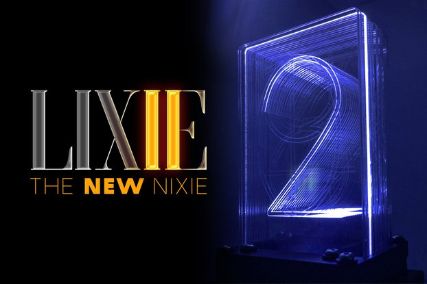 LIXIE II - The #NewNixie for Arduino! (Kit)