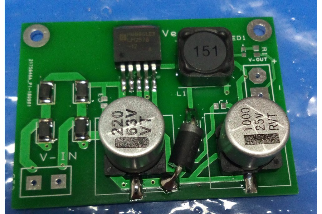 LM2576 Step Down Converter 1