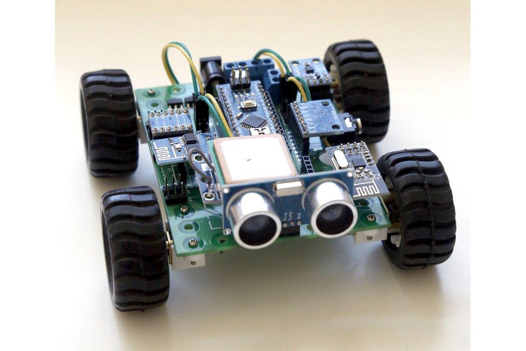 Hackabot Nano (Arduino compatible robot kit) 1