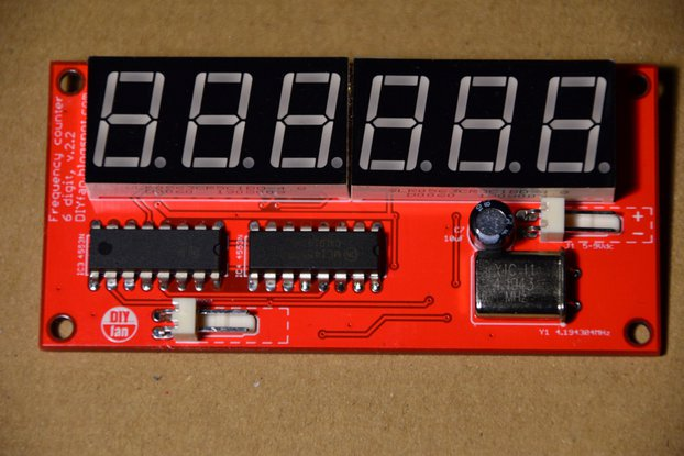 6-Digit Frequency Counter