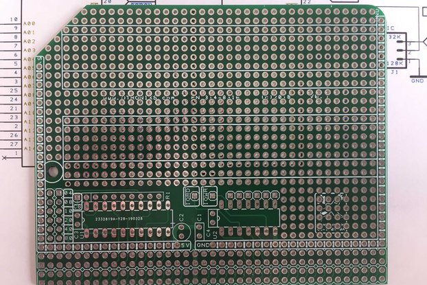 Enhanced Prototype Board/PCB for the RC2014 Bus