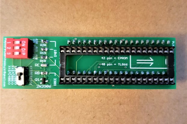 27C322/160/800/400 to TL866II Plus Programmer