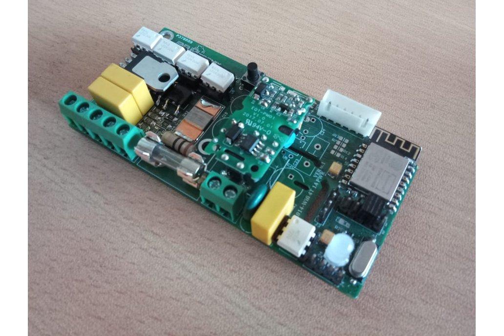 BA014:Wifi 4 Triac 1Amp with Power Monitoring 1