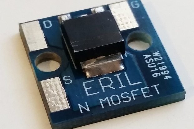 DMN6040SK3-13 N-channel MOSFET Break-Out