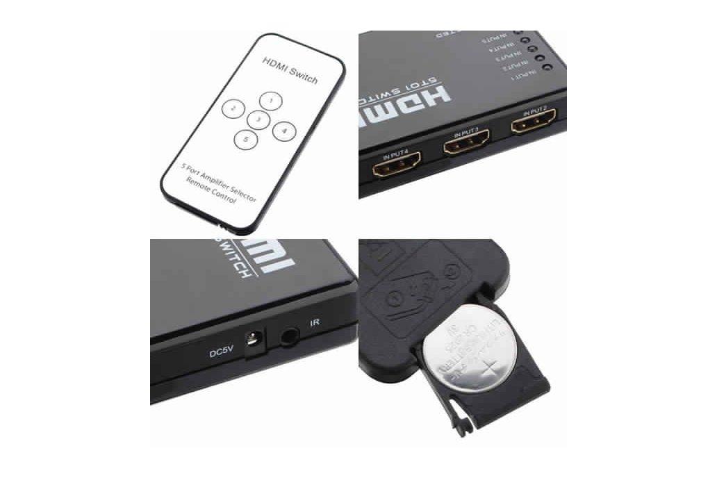 Mini HDMI Splitter Switch 1