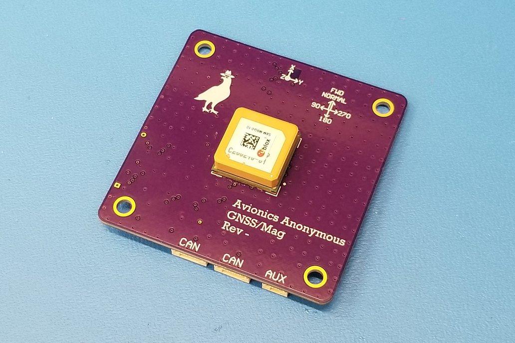 UAVCAN GPS / Magnetometer 1