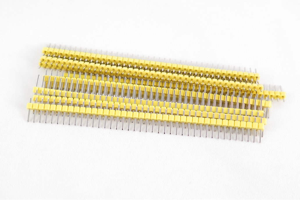 Pack of 10 color 40 pin male header 3