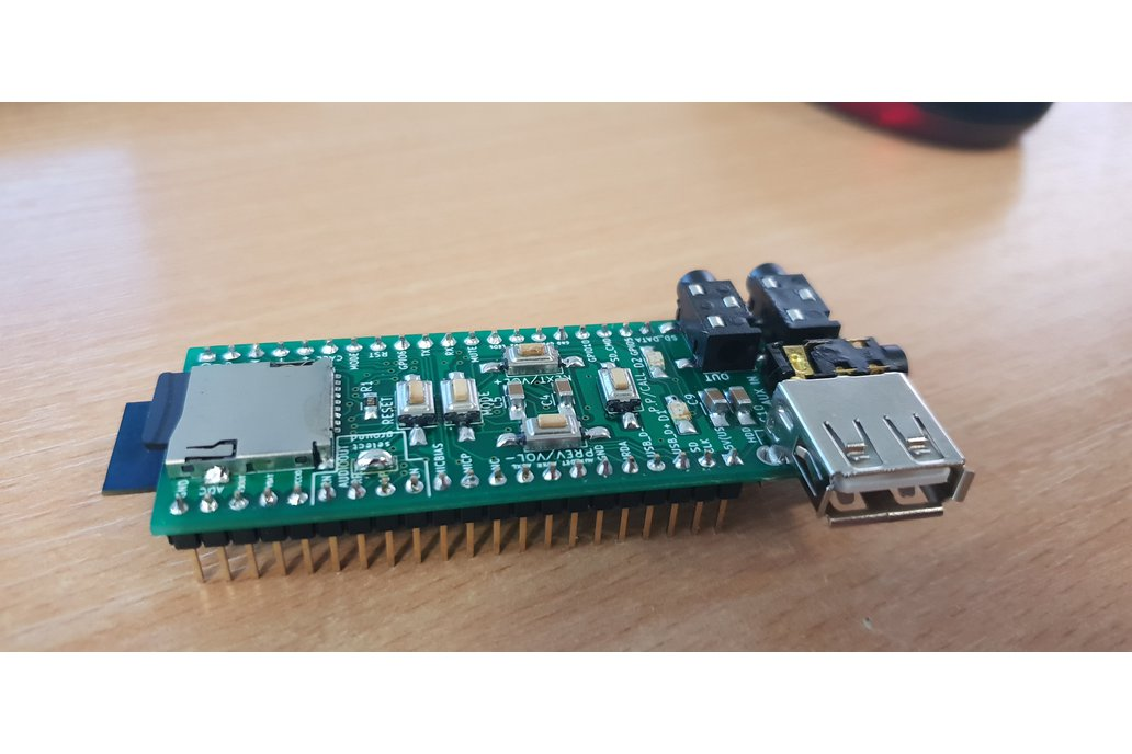 Assembled advanced breadboard adapter for BK3254 1