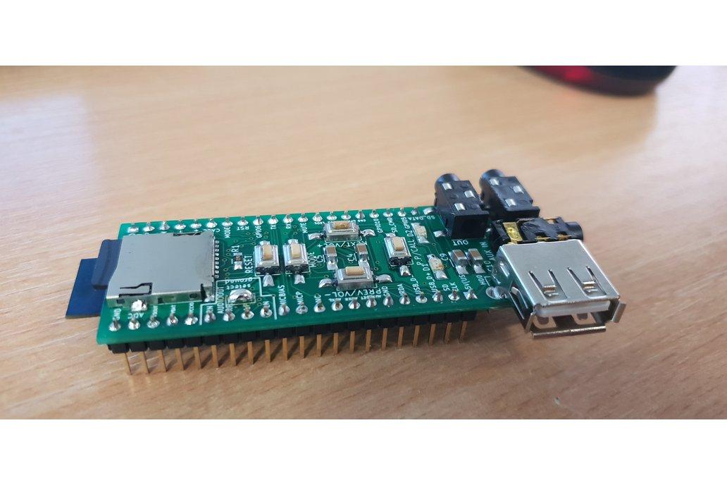 Assembled advanced breadboard adapter for BK3254 1