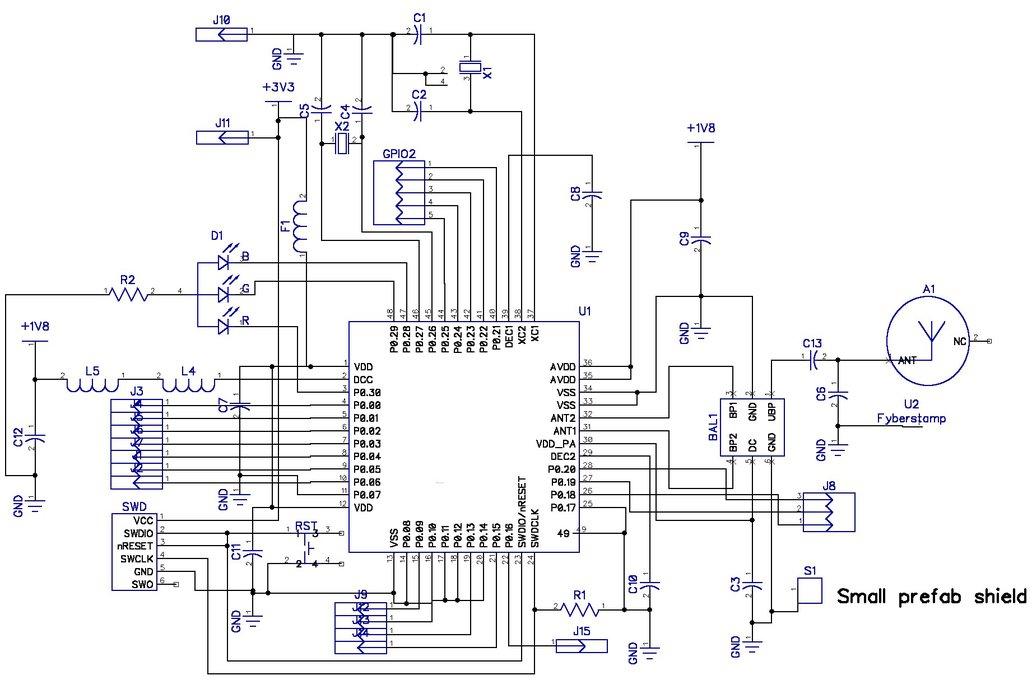 3dB BLE Bluetooth Flex Module 5