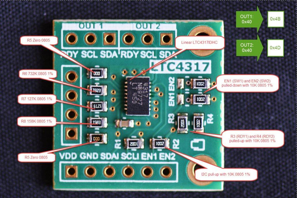 LTC4317 Dual I2C/SMBus Hardware Address Translator 4