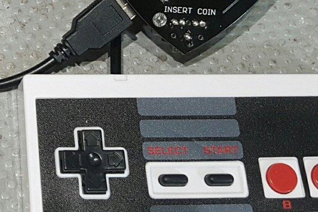 USB Controller for layerOne 2017 badge + MicroSD