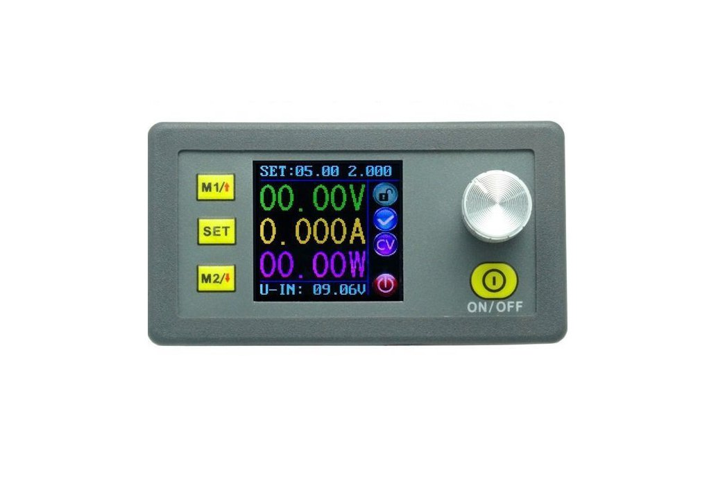Laboratory programable POWER SUPPLY  w/ color LCD 1