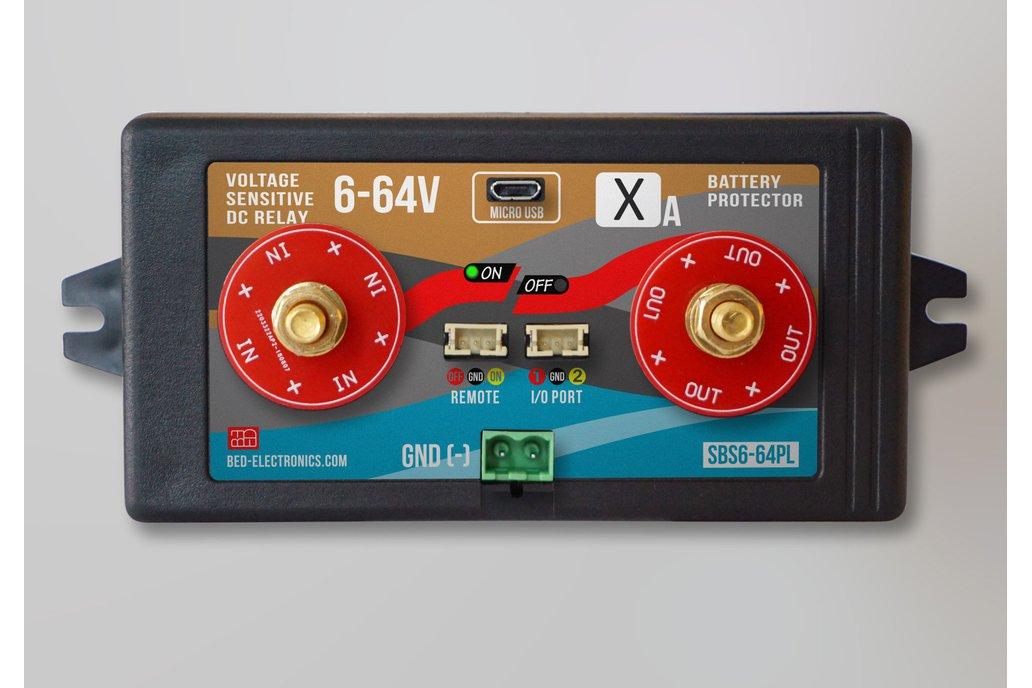 Voltage sensitive DC Relay (SSR) 6-64V 1