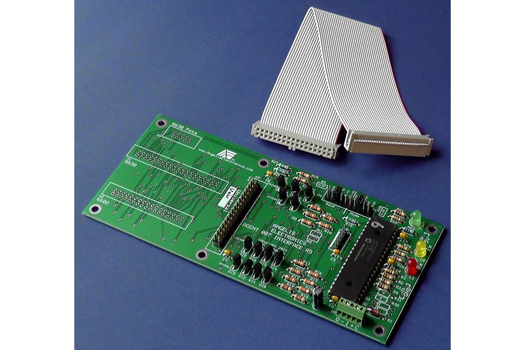 007-U 'Agent' Control Panel Interface Processor 1