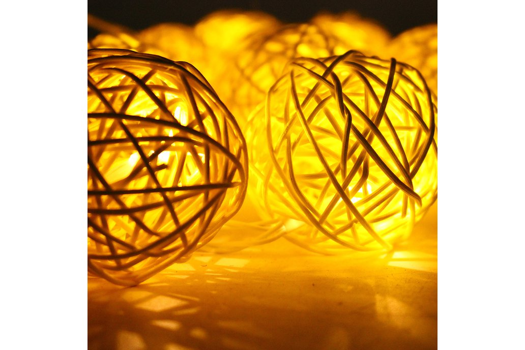 Ball String Christmas LED Lights 4