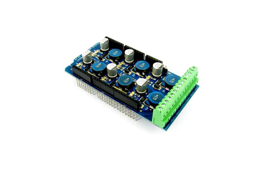 6 Channel LED Shield for Arduino (0,35-0,7-1A) 1