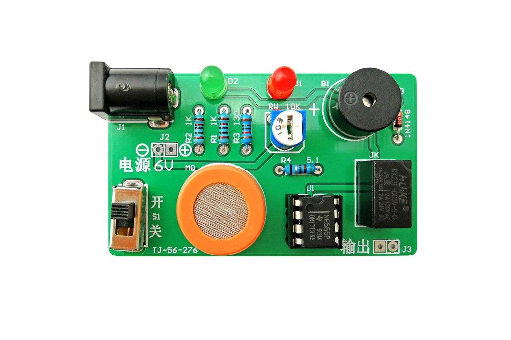 DIY Kit MQ-3 Sensor Alcohol Detector Tester (13602 1