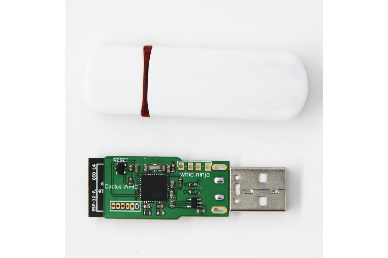 Cactus WHID: WiFi HID Injector USB Rubberducky