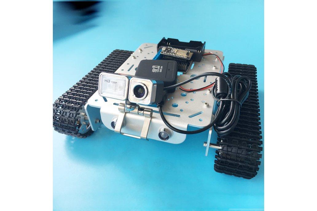 Video RC WIFI  Metal Robot Tank Chassis 7