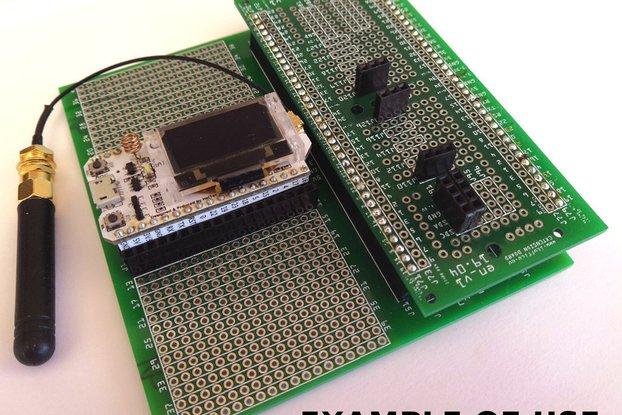 Heltect WiFi Lora 32 & TTGO Prototyping Board