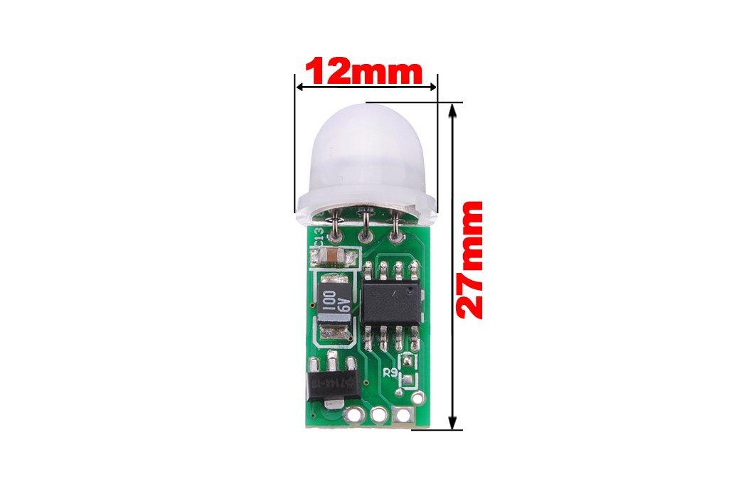 Mini IR Pyroelectric Infrared PIR Motion 2