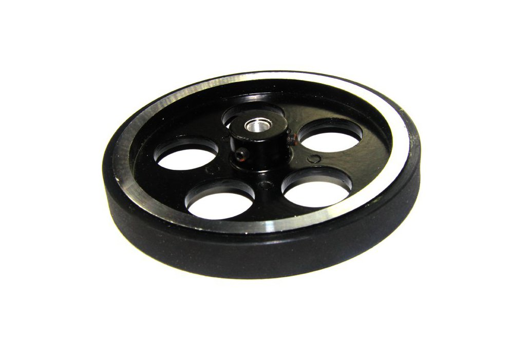 Metal Tire Aluminum Alloy Wheel with Rubber 1