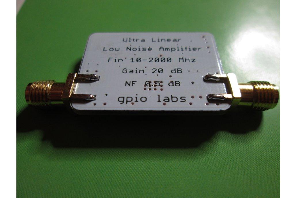 Ultra Linear LNA; 10-2000 MHz; NF 0.5dB 4