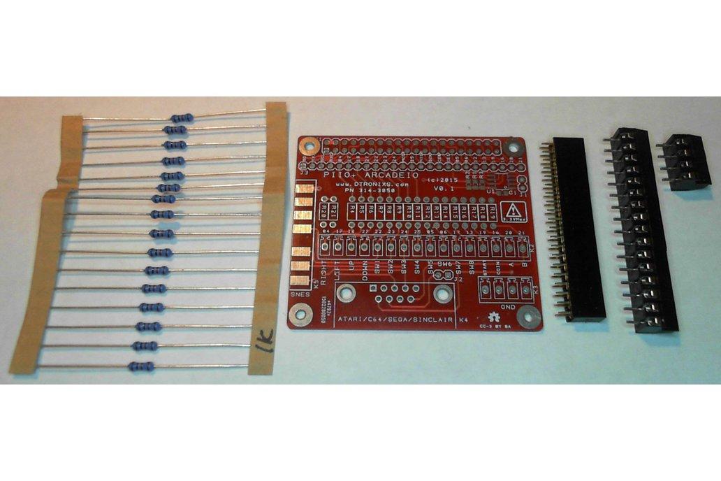 Raspberry PIIO - ArcadeIO add-on board (Kit only) 2
