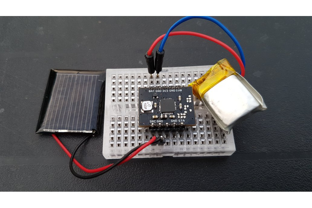Solar harvesting into Li-ion battery 3