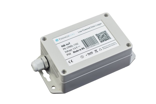 NB-IoT low power data logger