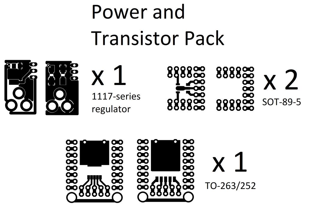 Mini protoboard pieces - 28 pcs set only $6! 7