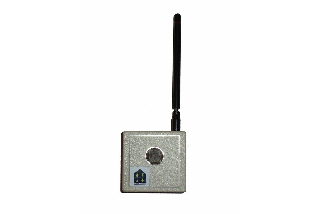 Wireless MQ2 Combustible Gas sensor  1
